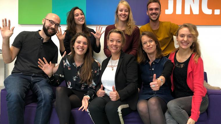 Teamfoto Den Haag nieuw 2019