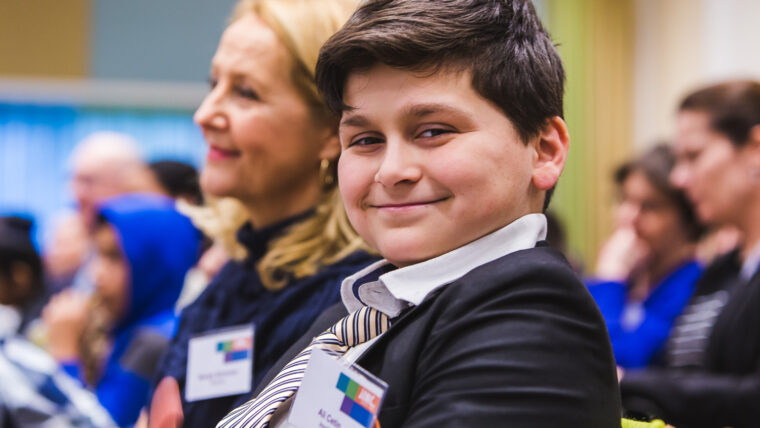 BvM 2016 Conferentie Amsterdam jongen duim 1