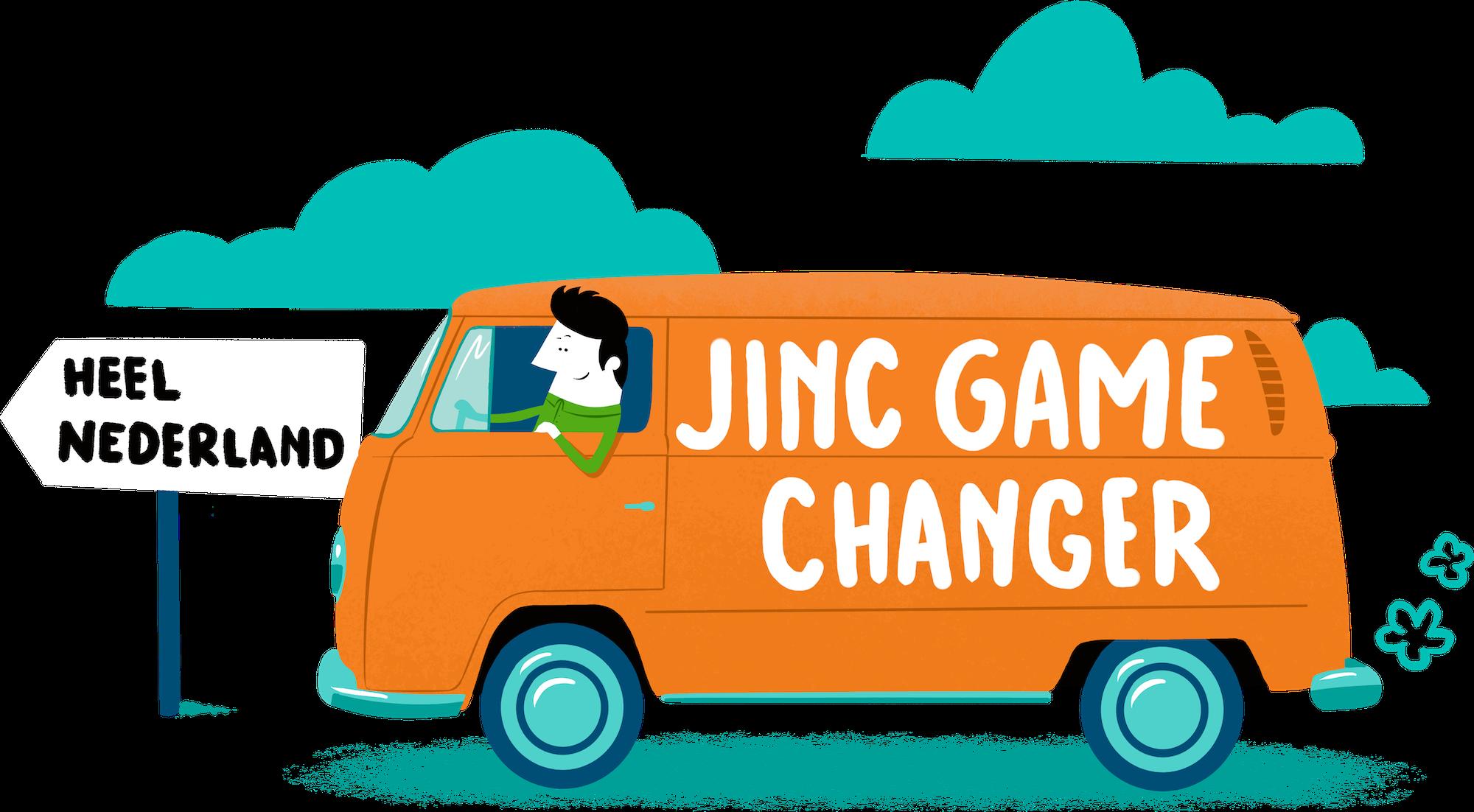JINC Game Changer illustratie-zonder kader