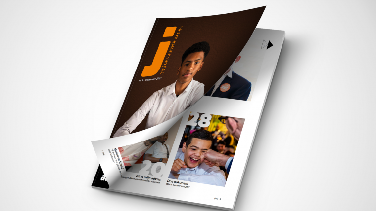 Mock-up JINC magazine